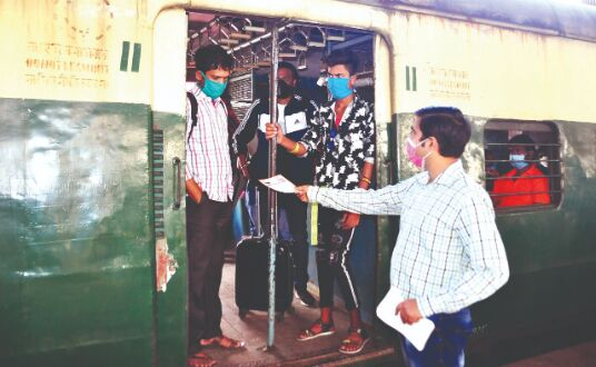 Covid norms: Railways start drive to spread awareness
