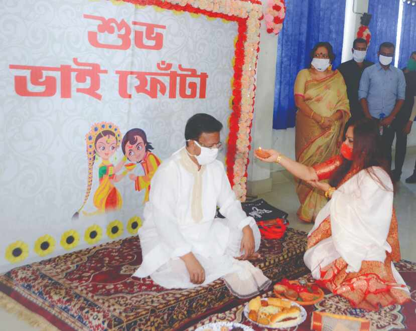 Chief Minister wishes all on Bhaiphonta; ministers enjoy day out with sisters