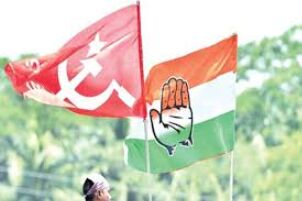 Left, Cong discuss seat-sharing formula for 2021 Assembly polls
