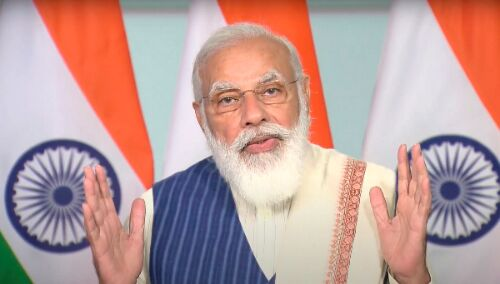 Its time for tech solutions designed in India: PM Modi