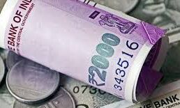 Rupee logs 1st loss in four sessions, slips 8 paise against USD
