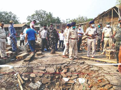 Bombs not present, explosion due to snag in machine: Forensic experts
