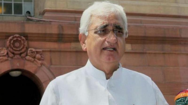 No leadership crisis in Cong; support for Sonia, Rahul apparent to anyone not blind: Khurshid