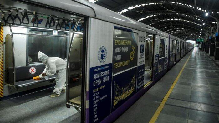 Over 1 Lakh passengers avail Metro services on Nov 18