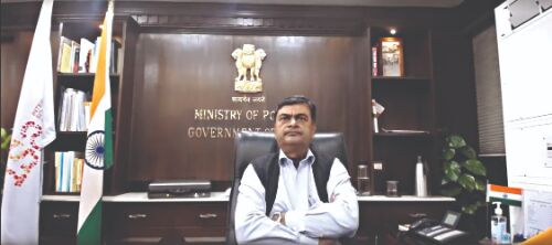 RK Singh launches Green Charcoal Hackathon