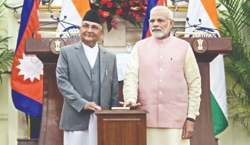 Indian, Nepalese officials discuss ways to further enhance trade ties