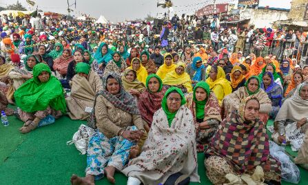 Farmer protest: Security beefed up at Chilla border