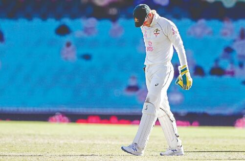 I let the team down: Paine on dropped catches