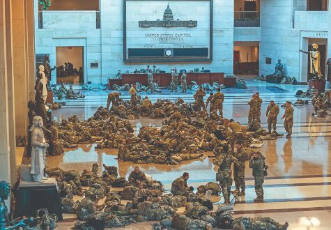 In rare joint message, top US military leaders condemn Capitol riot