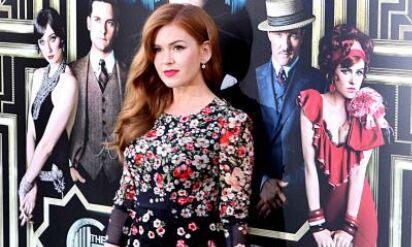 Isla Fisher says first day on set is always nerve racking for her