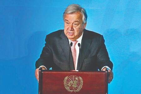 COVID-19 pandemic used as pretext to crush dissent: UN chief