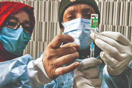 Speed up vaccination drive, dont lower guard: L-G at DDMA meet