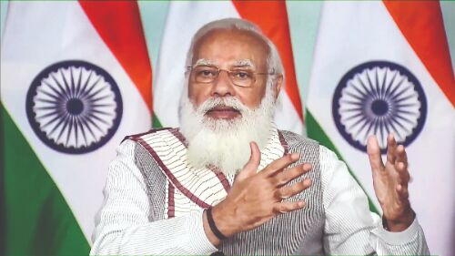 Indias health sector overcame trial by fire during Covid: PM
