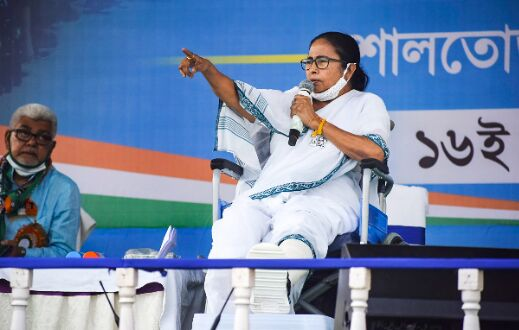 CRPF harassing voters in Bengal at Shahs behest: Mamata