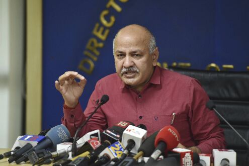 Delhi received 440 MT of oxygen, much less than allocated 590 MT quota: Sisodia