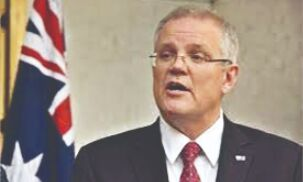 Australian PM defends ban on citizens returning from India