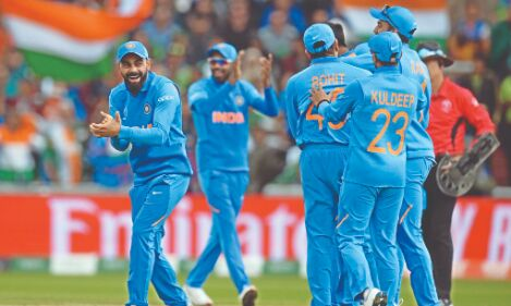 India 2nd in ICC T20 rankings, drop to third in ODI chart