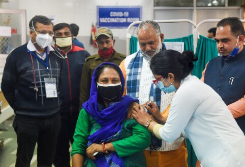 Total number of COVID-19 vaccine doses given in India crosses 15.89 crore
