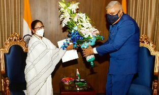 Mamata sworn-in as Bengal CM for 3rd time