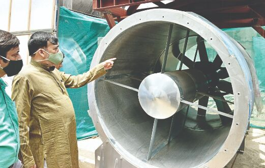 Delhis first smog tower at CP will be ready by Aug 15, says Gopal Rai