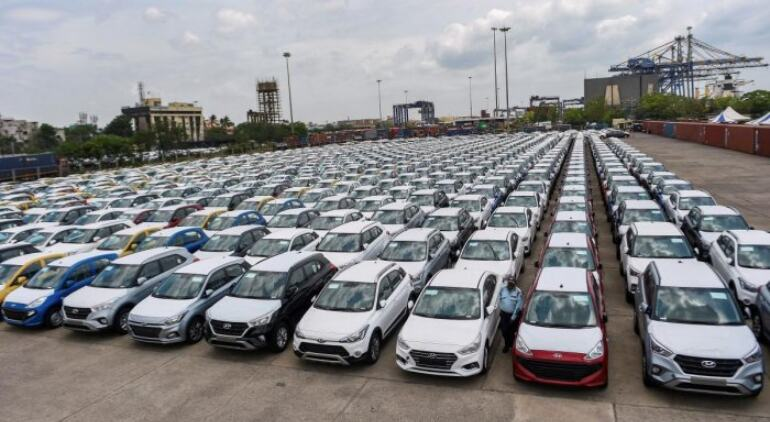 Auto retail sales in May fall 55% as Covid hits registration