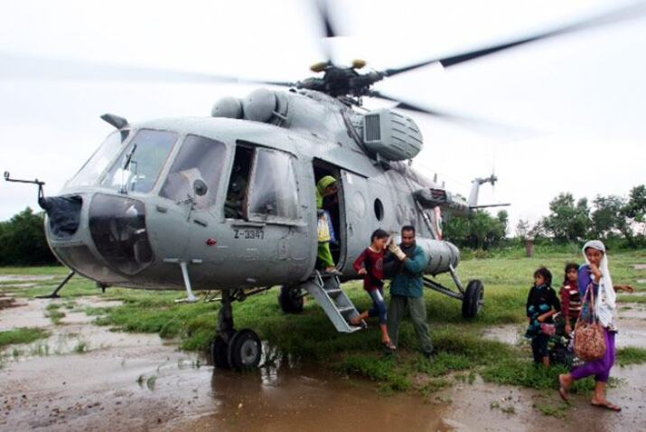 IAF rescues 5 people stranded due to flash floods in J-Ks Kathua