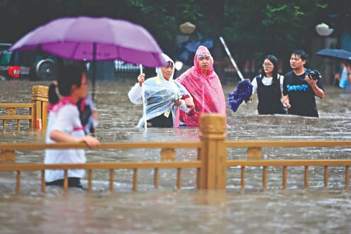 25 killed, over 1 million affected as floods hit central China
