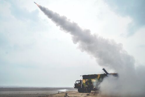 DRDO test-fires new Akash surface-to-air missile and man-portable anti-tank missile