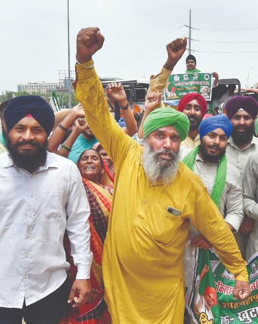 Farmers allowed to protest at Jantar Mantar with curbs
