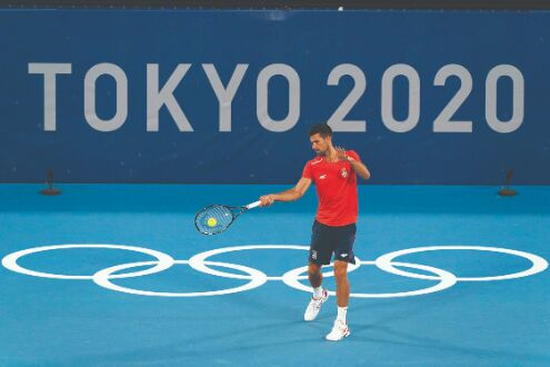 Djokovic knows history is on the line at Olympics