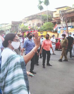 Mamata campaigns in Chetla; BJP playing communal card, says TMC