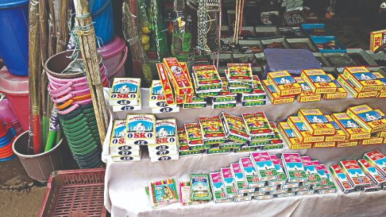 Storage, sale & use of firecrackers banned in Delhi during Diwali